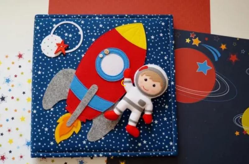 Для, открытки на космическую тематику своими руками для детей