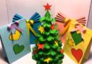 Елка своими руками на Новый год в детский сад и школу+шаблоны