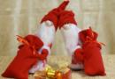 Гномы к новому году украшения своими руками для интерьера + выкройки