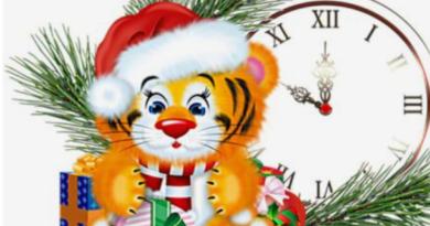 Трафареты тигра на окна для вырезания из бумаги на Новый год 2022